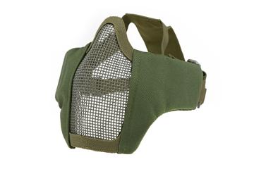 Bild på PDW Half Face Protective Mesh Mask - Olive