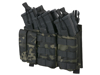 Picture of 8FIELDS Buckle Up Trippel 7.62/9mm Magasinficka - Multicam Black