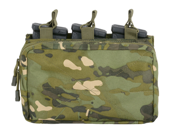 Picture of 8FIELDS MOLLE Trippel 5.56 Magasin/Flerbruksficka - Multicam Tropic