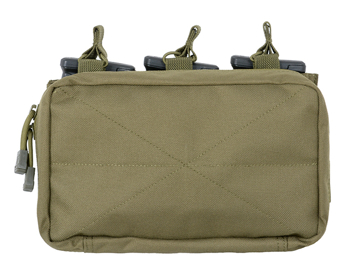 Picture of 8FIELDS MOLLE Trippel 5.56 Magasin/Flerbruksficka - OD
