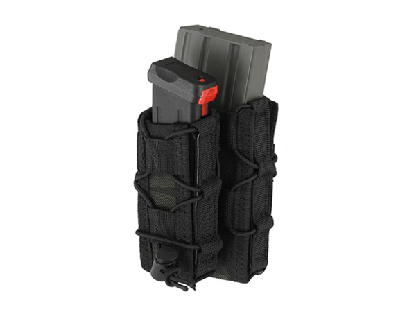 Picture of 8FIELDS MOLLE Combo 5.56/Pistol Mag Speed Pouch - Multicam Black
