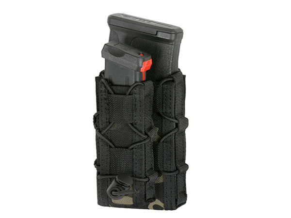 Picture of 8FIELDS Belt Mounted Combo 5.56/Pistol Mag Speed Pouch - Multicam Black