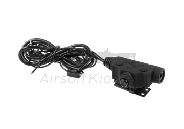 Picture of Z-Tactical U94 II PTT Kenwood Connector - Black