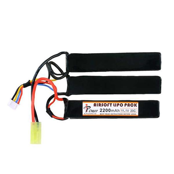 Picture of IPower Li-Po Batteri 2200mAh 11,1V 20C