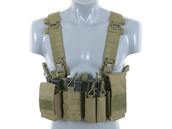 Bild på 8FIELDS Buckle Up Chest Rig V3 - OD