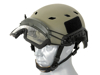 Bild på TMC FAST Helmet Visor Clear - Black