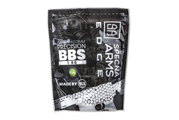 Picture of Precision BBs 0,25g - 1kg - White Specna Arms EDGE™