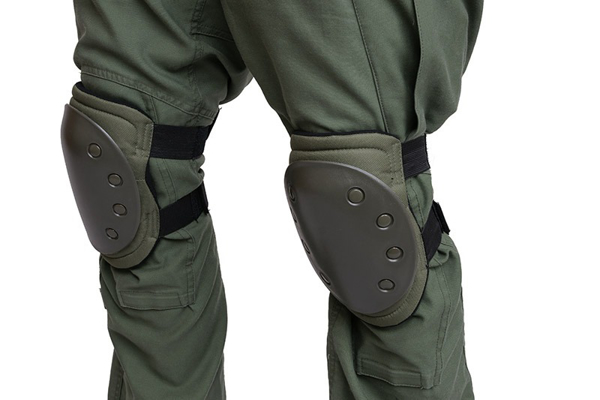 Bild på Set of knee protection pads - olive