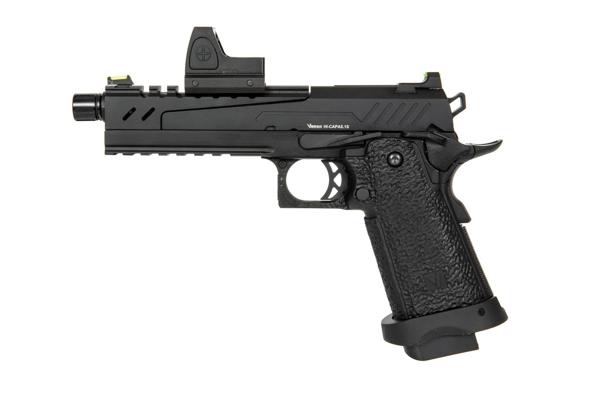 Picture of Hi-Capa 5.1 Split Side Pistol Black (with BDS Sight) Vorsk