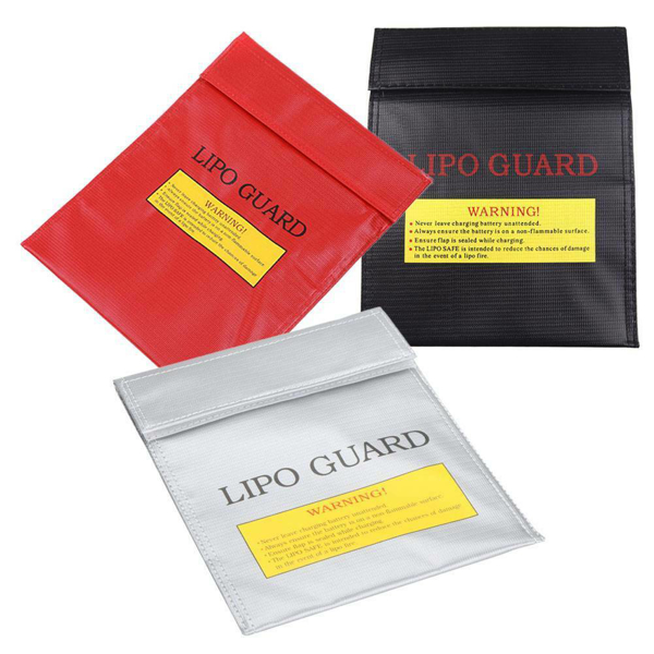 Picture of LiPo Safety-Bag 18x22 cm (Pirate Arms) Grå