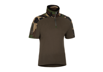 Picture of Combat Shirt Short Sleeve Woodland
