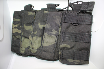 Bild på 8FIELDS 5.56/9mm Kombinationsficka - Multicam Black