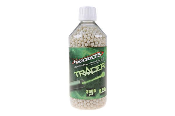Bild på Rockets Tracer 0,20g BB pellets 3000 pieces - bottle
