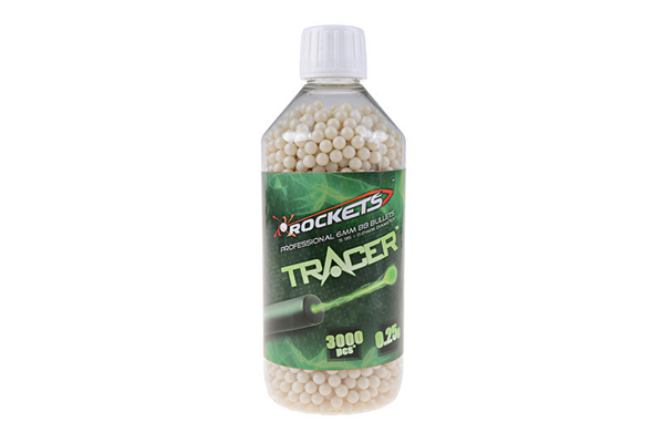 Bild på Rockets Tracer 0,25g BB pellets 3000 pieces - bottle
