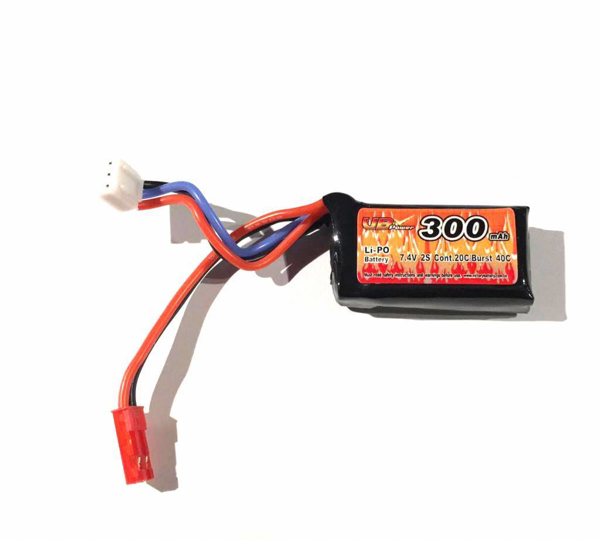 Picture of VB Power 7.4v 300mah lipo battery for HPA Engine