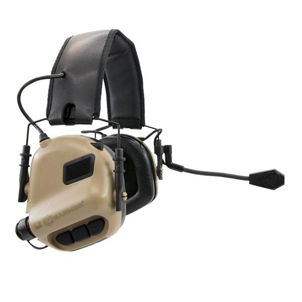 Picture of EARMOR M32 Mod 3 Aktiva Hörselskydd med mikrofon - Foliage Tan