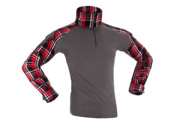 Bild på Invader Gear Flannel Combat Shirt - Red storlek L