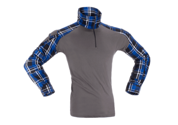 Bild på Invader Gear Flannel Combat Shirt - Blue L