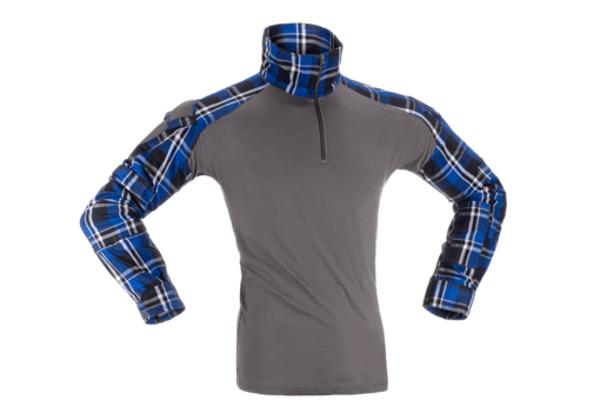 Bild på Invader Gear Flannel Combat Shirt - Blue XL