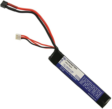 Bild på LiPo 11.1V 1100mAh 20C Stock Tube Type T-Plug Dean
